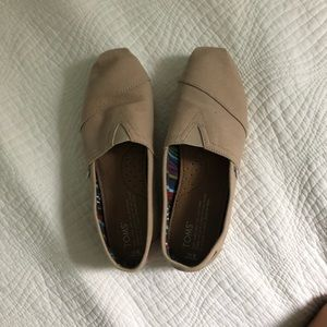 Toms Shoes - Tan & Black Toms (sold together or separate)